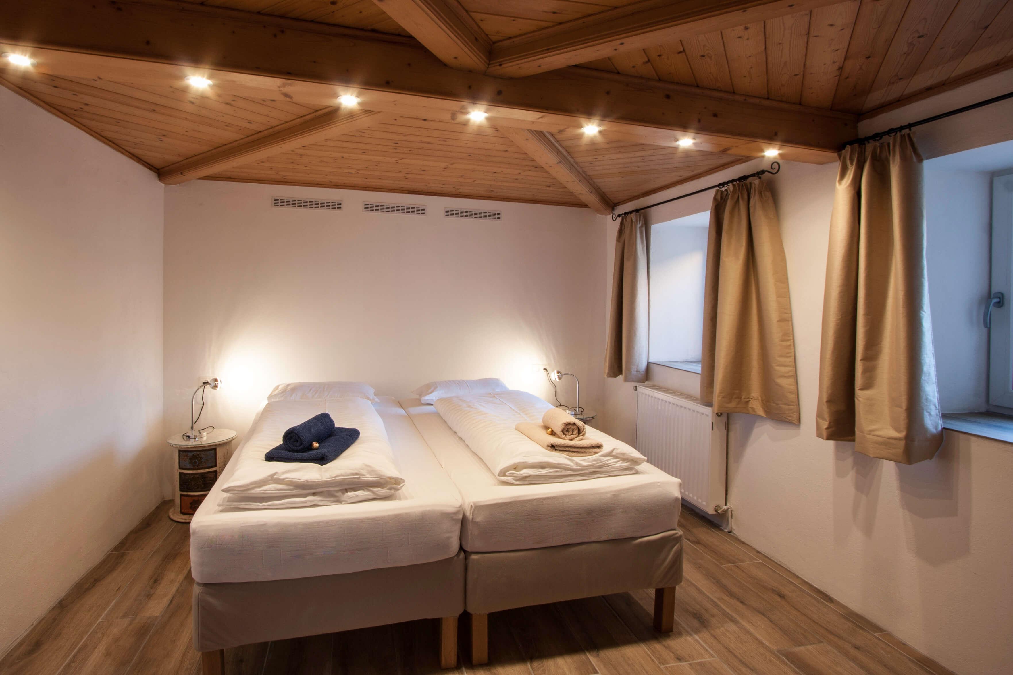 Casa Domingo Rural I Schlafenzimmer Doppelbett