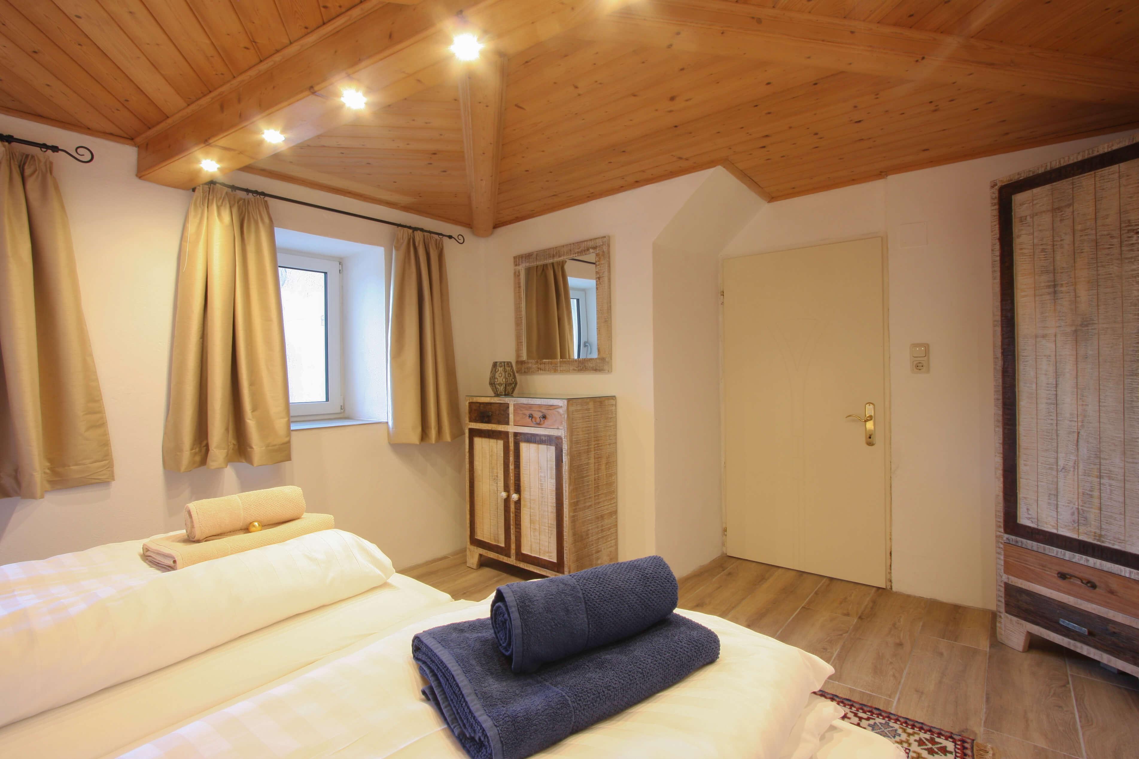 Casa Domingo Rural 2 Schlafzimmer Doppelbett